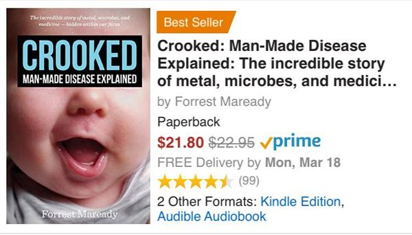 Crooked is a Best Seller!