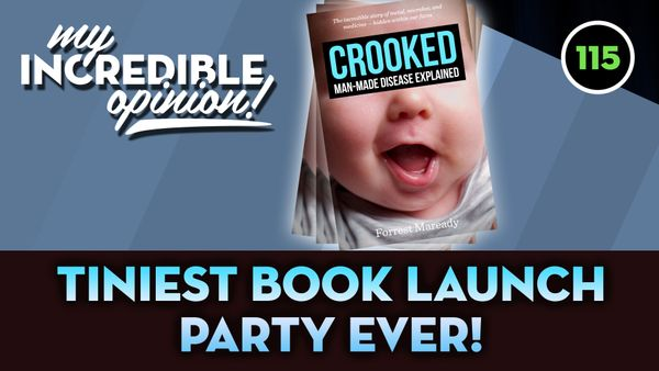 Ep 115- Tiniest Book Launch Party Ever!
